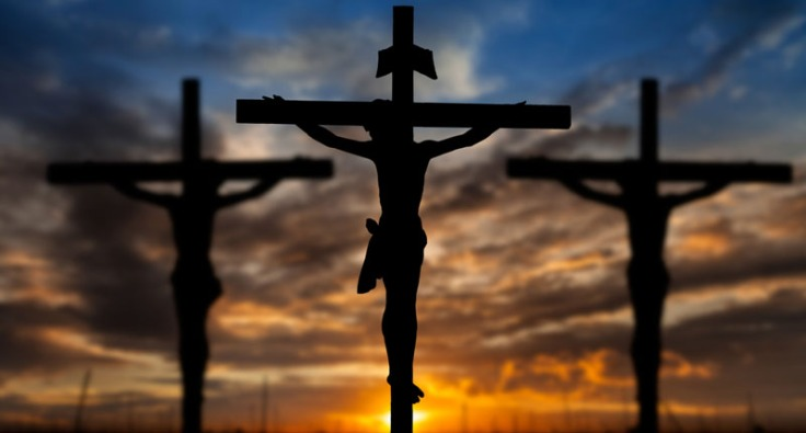 Silhouette-of-Jesus-during-his-crucifixion-Shutterstock